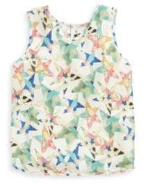 Stella McCartney Toddler's, Little Girl's& Big Girl's Kiri Star-Print Silk Blouse