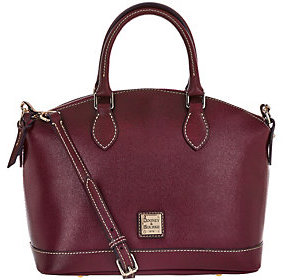 Dooney & Bourke As Is Saffiano Leather Darcy Satchel - ONE COLOR - STYLE