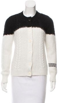 Band Of Outsiders Colorblock Angora Cardigan w/ Tags