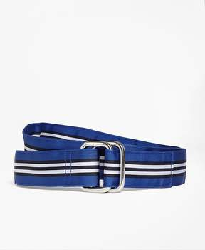 Brooks Brothers BB#1 Stripe Ribbon Belt