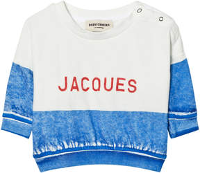 Bobo Choses Blue Jacques Boat Sweatshirt