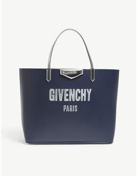Givenchy Antigona logo leather tote