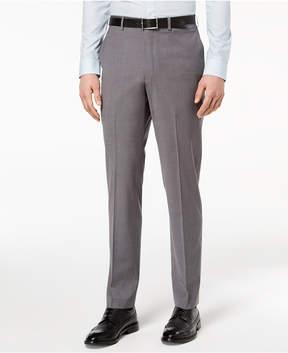 DKNY Men's Slim-Fit Stretch Neat Suit Pants
