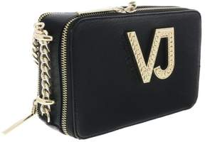 Versace EE1VRBBC2 Black Shoulder Bag