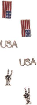 Carole Usa Trio:Usa/Flag/Fin