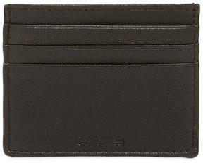 Calvin Klein Pebble Leather Card Case
