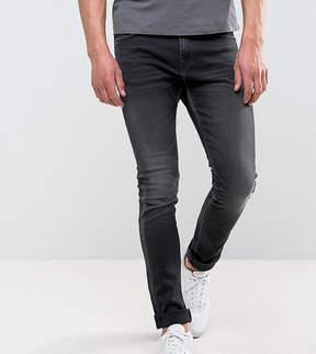 Edwin ED-90 Skinny Straight Jeans Goth Black