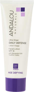 Andalou Naturals Ultra Sheer Daily Defense Facial Lotion