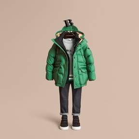 Burberry Down-filled Hooded Puffer Jacket