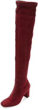 LK Bennett L.K.Bennett Women's Lorde Suede Over The Knee Boot