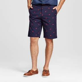 Merona Men's Club Shorts Navy with Red Crab Print