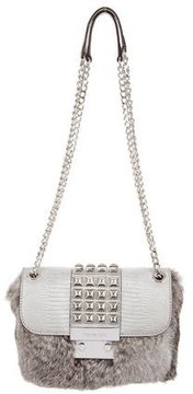 MICHAEL Michael Kors Studded Fur Flurry Bag