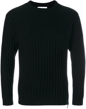 Moschino ribbed crew neck sweater