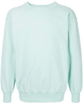 H Beauty&Youth long-sleeve fitted sweatshirt