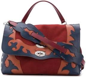 Zanellato Postina M appliqué bag
