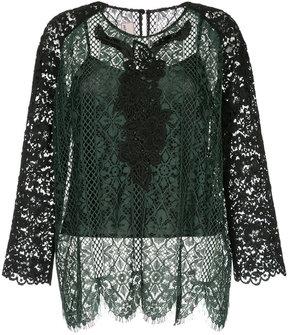 Antonio Marras lace blouse