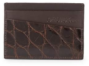 Saks Fifth Avenue Men's Alligator Card Holder