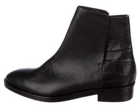 Jenni Kayne Embossed Leather Ankle Boots