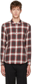 Attachment Brown Plaid Shirt