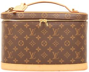 Louis Vuitton Nice cloth vanity case