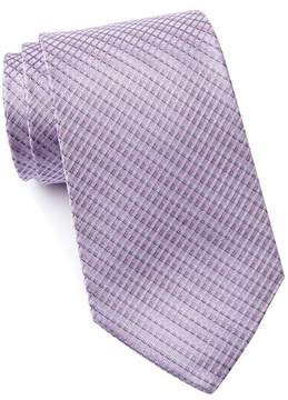 Kenneth Cole Reaction Roger Grid Silk Tie