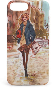 Henri Bendel Downtown Girl Graphic Case For Iphone 7/8 Plus