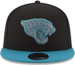New Era Jacksonville Jaguars Heather Pop 9FIFTY Snapback Cap