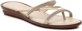 Italian Shoemakers Women's Jewel Wedge Sandal