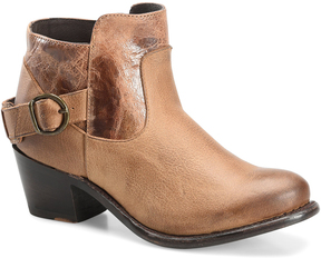Sonora Taupe Ella Leather Ankle Boot