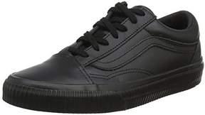 Vans Old Skool Skate Shoes Embossed Black/Black