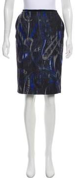 T Tahari Sloanne Patterned Skirt w/ Tags