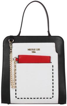 Women's Nicole Lee Color-Block Kimetha Handbag