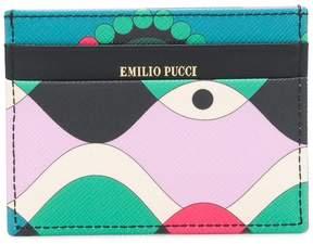 Emilio Pucci geometric print cardholder