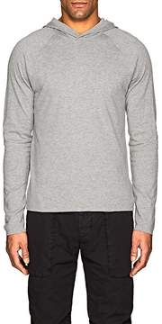 James Perse Men's Cotton Jersey Reversible Hoodie