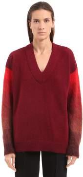 Agnona Camel & Mohair Knit Sweater