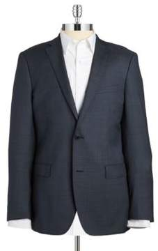 Black & Brown Black Brown Jack Fit Slim Two-Button Wool Blazer