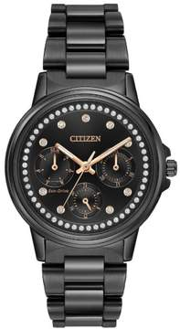 Citizen Silhouette Crystal FD2047-58E Black Analog Eco-Drive Women's Watch