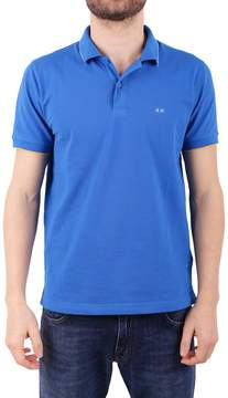 Sun 68 Cotton Blend Polo Shirt