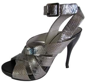 BCBGeneration BCBG Womens BG-Miel Snake Strappy Pump Shoe