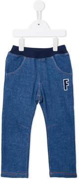 Familiar branded trousers