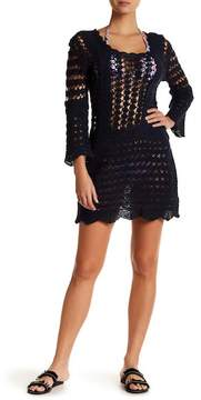 Letarte Crochet Lace Cover-Up Dress