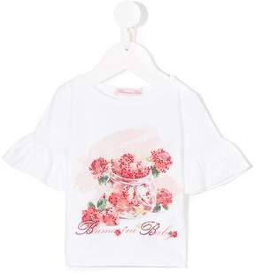 Miss Blumarine printed top