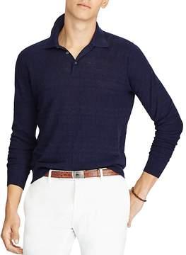 Polo Ralph Lauren Cotton-Linen Polo Sweater