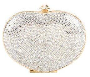 Judith Leiber Crystal- Embellished Heart Minaudière