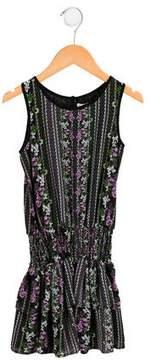 Ella Moss Girls' Floral A-Line Dress w/ Tags