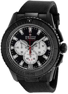 Zenith EL Primero Stratos Flyback Automatic Chronograph Black Alchron Men's Watch
