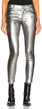 RtA Prince Leather Skinny in Metallics.