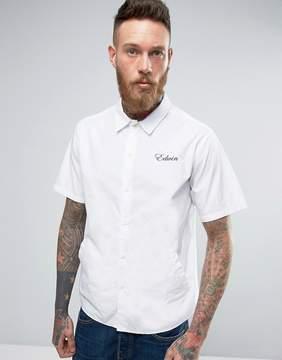 Edwin Pocket Bowling Shirt Short Sleeve