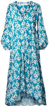 DAY Birger et Mikkelsen Borgo De Nor - Beatrice Floral-print Crepe Midi Dress - Blue