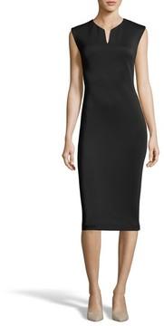 ECI Women's Notch Neck Sheath Dress